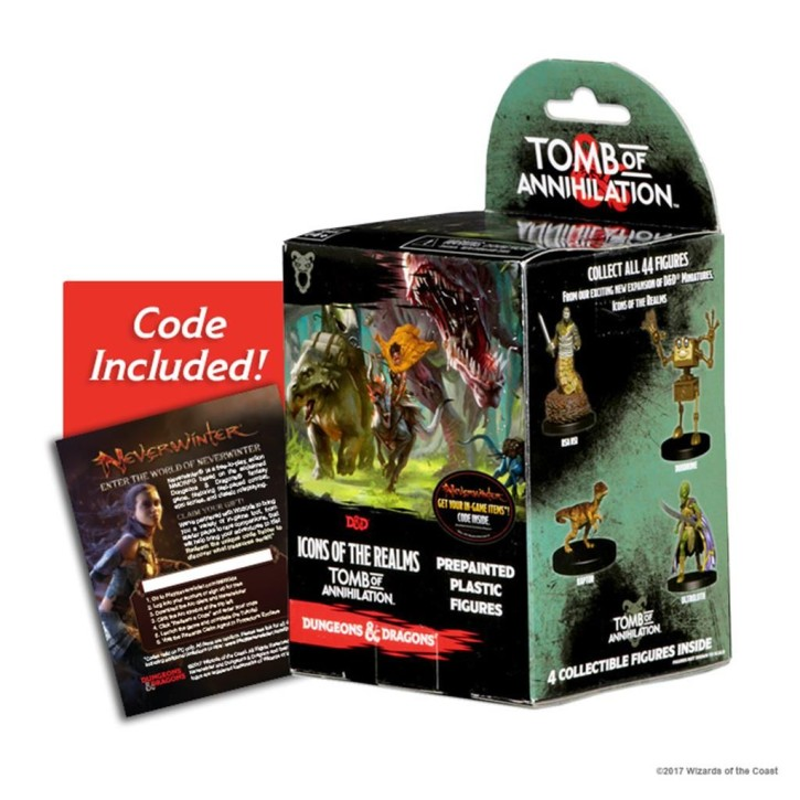 D&D ICONS OF THE REALMS: Tomb of Annihilation - Booster EN