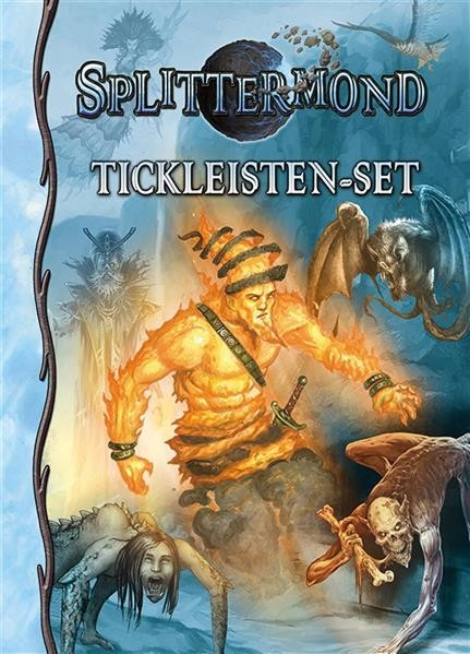 SPLITTERMOND: Deluxe-Tickleistenset - DE