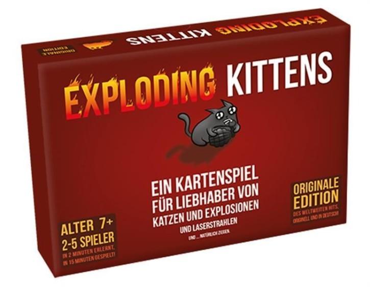 Exploding Kittens - DE