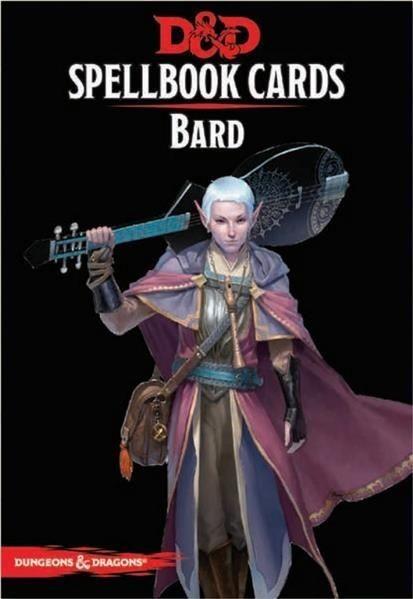 D&D: Spellcards - Bard - EN