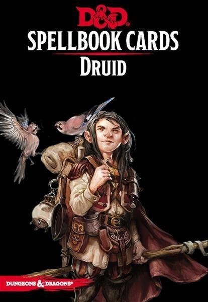 D&D: Spellcards - Druid - EN