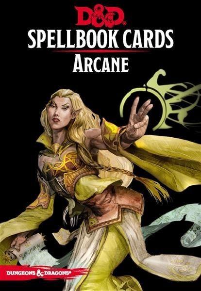 D&D: Spellcards - Arcane - EN