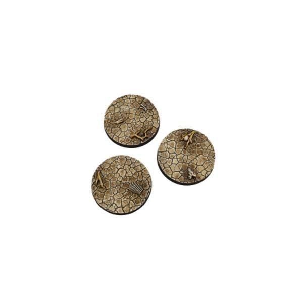 WASTELAND BASES: Round 50mm (2)