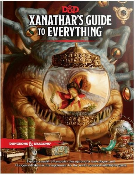 D&D RPG: Xanathars Guide to Everything - EN