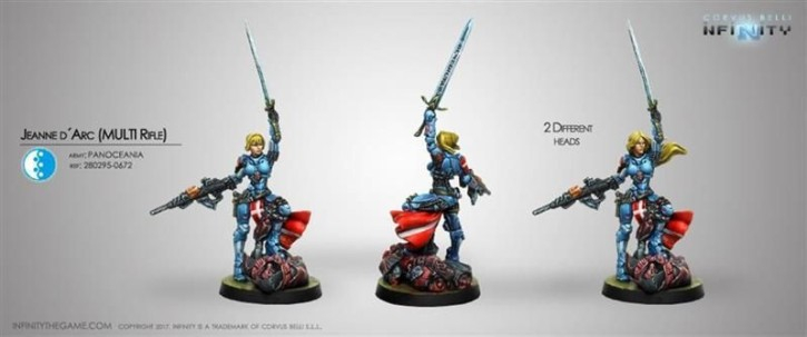 INFINITY: Jeanne d Arc (MULTI Rifle)