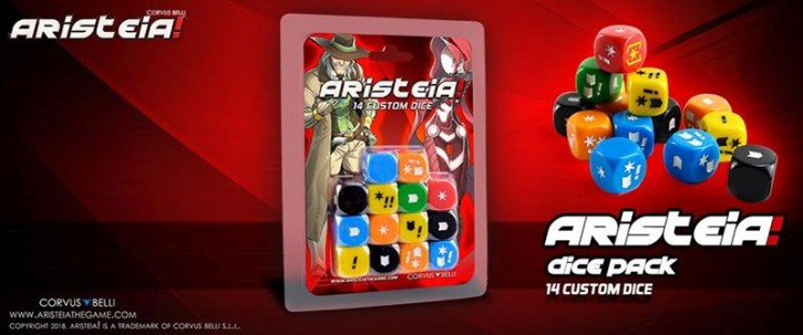 ARISTEIA!: Dice Pack