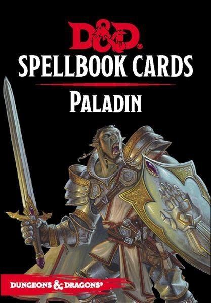 D&D: Spellbook Cards - Paladin - EN