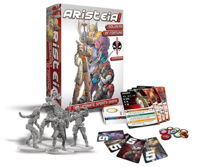 ARISTEIA!: Soldiers of Fortune Box