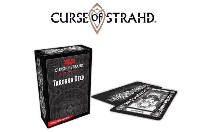 D&D: Curse of Strahd: Tarokka Deck (54 Cards) - EN