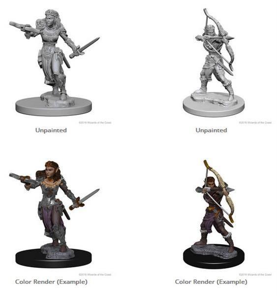 D&D MARVELOUS MINIS: Elf Female Ranger