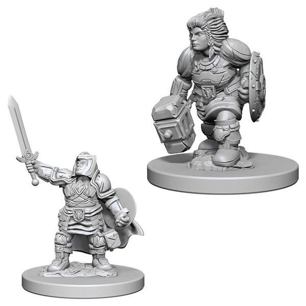 D&D MARVELOUS MINIS: Dwarf Female Paladin