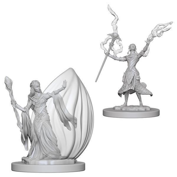 D&D MARVELOUS MINIS: Elf Female Wizard