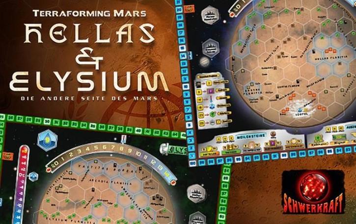 TERRAFORMING MARS: Hellas & Elysium - DE