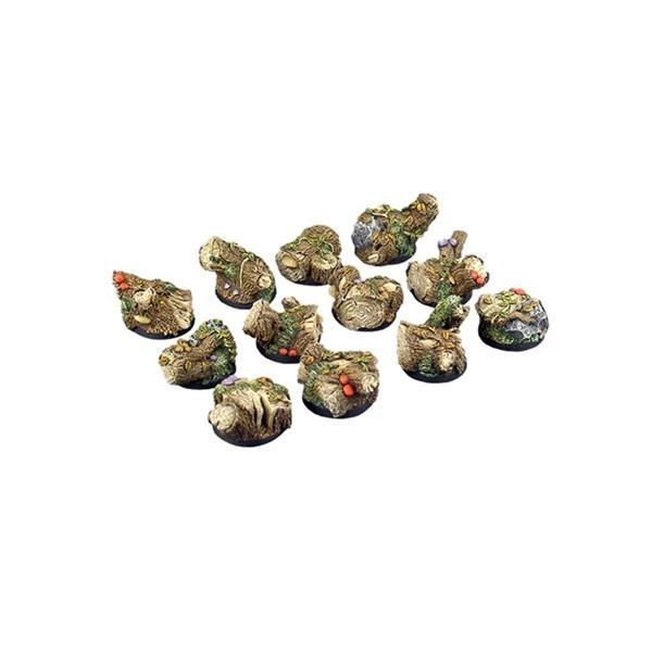 FOREST BASES: Round 25mm (5)