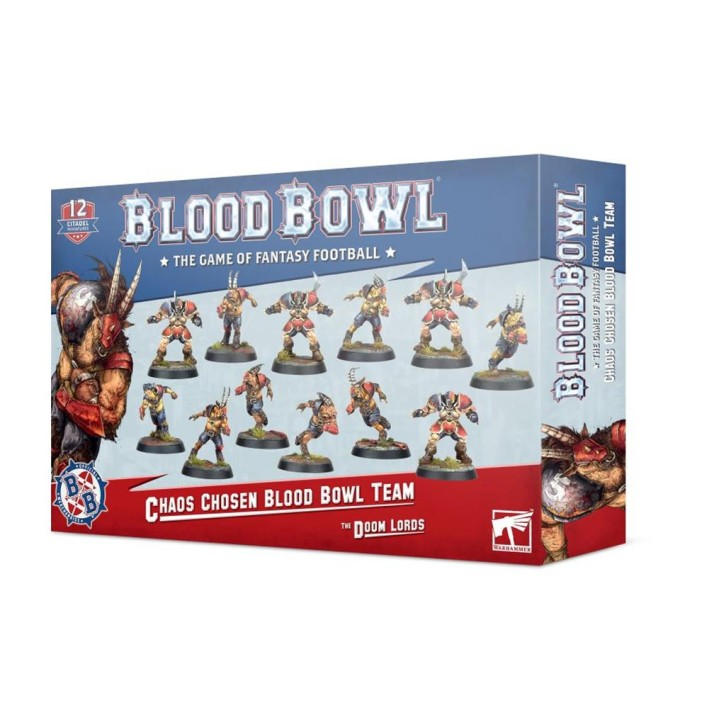 BLOOD BOWL: Chaos Chosen Team