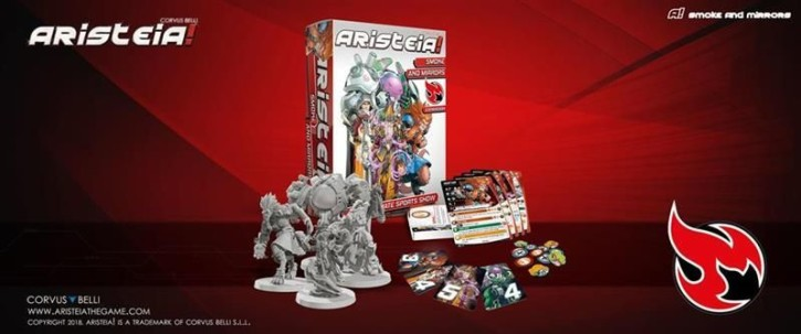 ARISTEIA!: Smoke and Mirrors Box