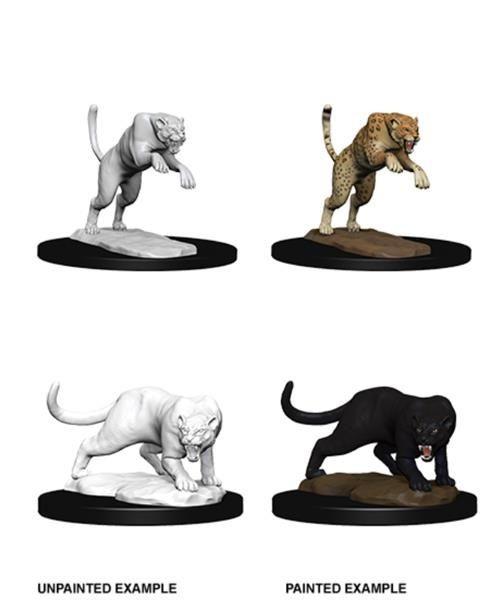 D&D MARVELOUS MINIS: Panther & Leopard