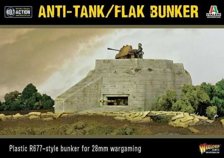 BOLT ACTION: Anti Tank/Flak Bunker