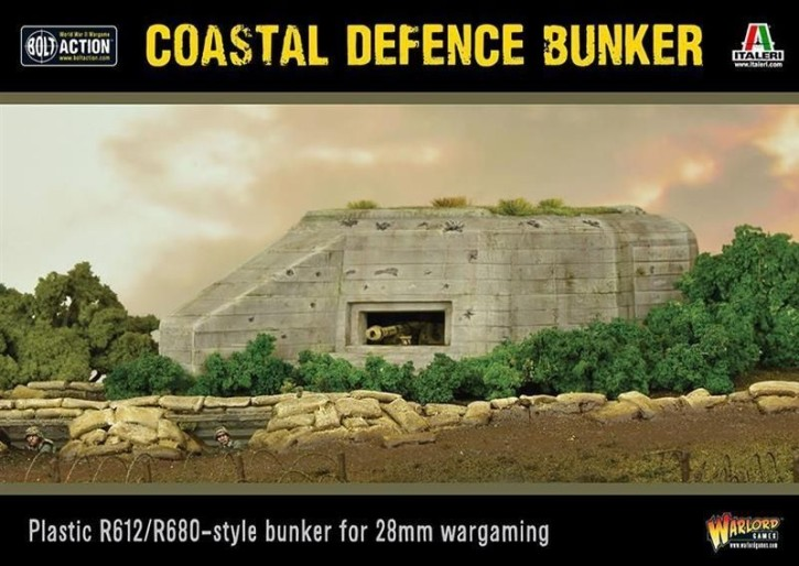 BOLT ACTION: Coastel Defence Bunker