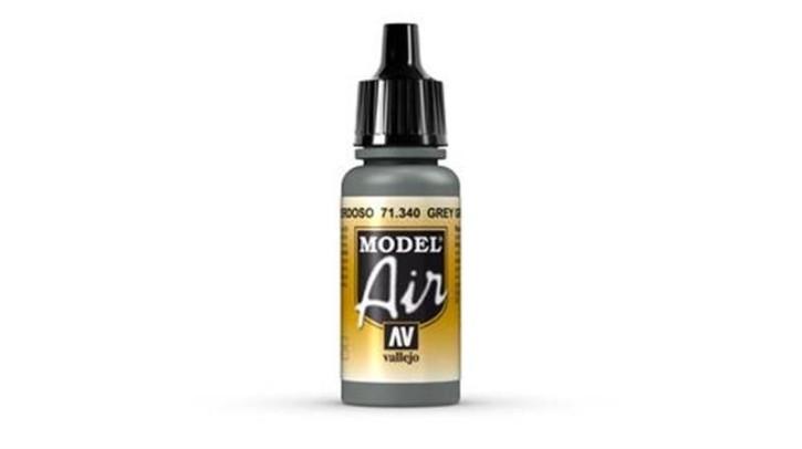 VALLEJO MODEL AIR: 71340 Grey Green 17ml