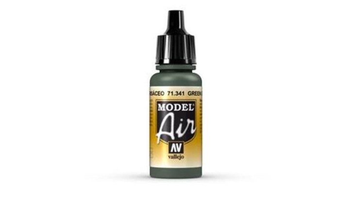 VALLEJO MODEL AIR: 71341 Green Grey 17ml