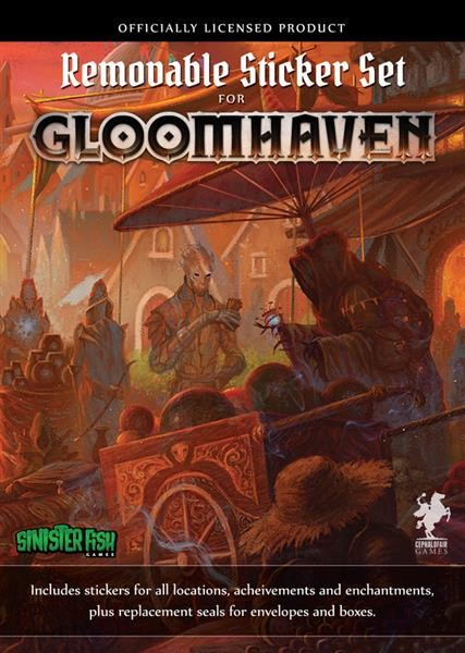 GLOOMHAVEN: Removable Sticker Set - EN