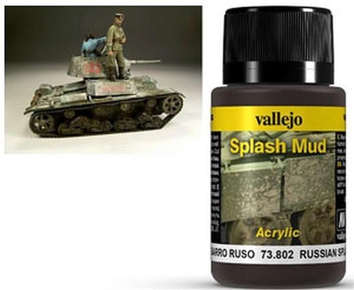 VALLEJO WEATHERING: Splash Mud Russian (40ml)