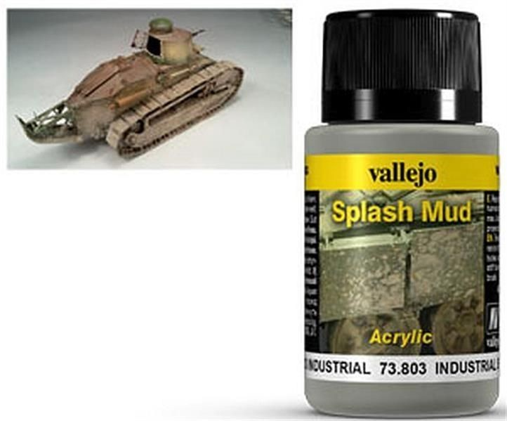 VALLEJO WEATHERING: Splash Mud Industrial (40ml)