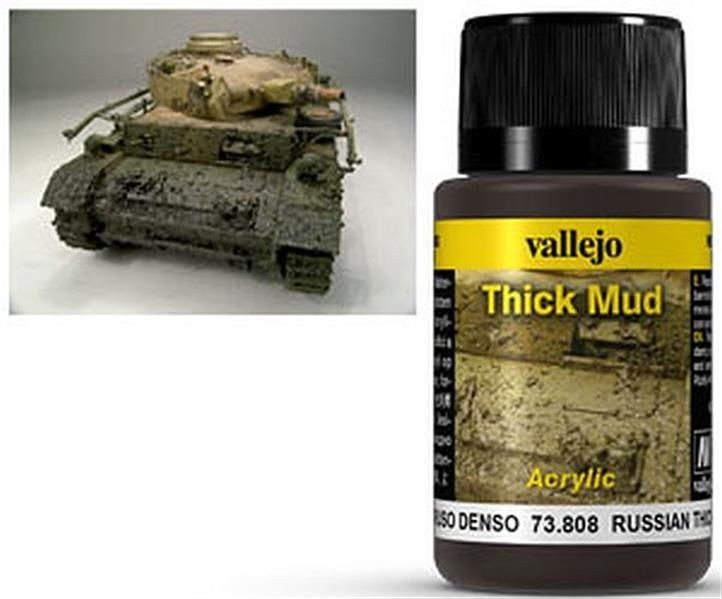 VALLEJO WEATHERING: Thick Mud Russian (40ml)
