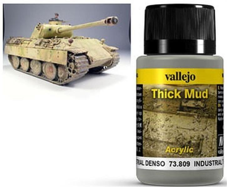 VALLEJO WEATHERING: Thick Mud Industrial (40ml)