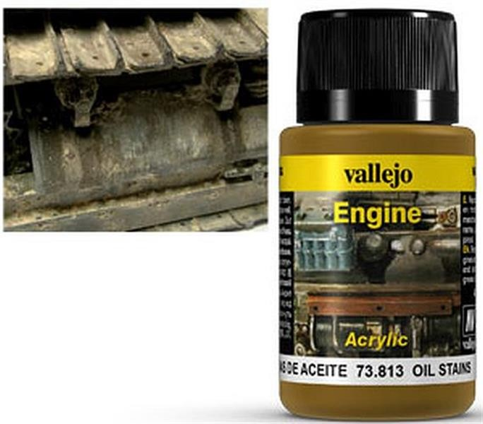 VALLEJO WEATHERING: Engine Effect Oil Stains (40ml)