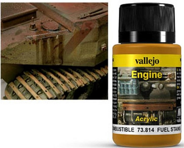 VALLEJO WEATHERING: Engine Effect Fuel Stains (40ml)