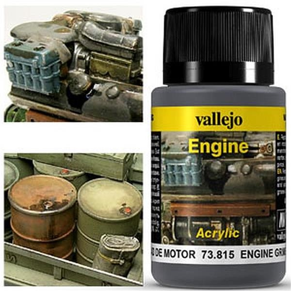 VALLEJO WEATHERING: Engine Effect Engine Grime (40ml)