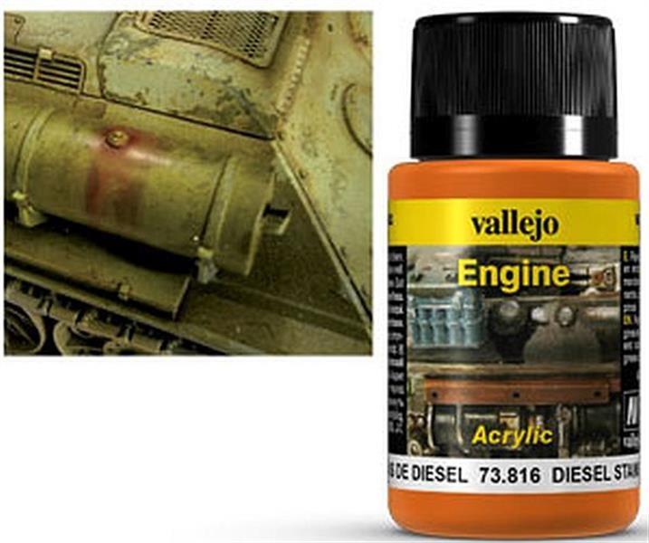 VALLEJO WEATHERING: Engine Effect Diesel Stains (40ml)