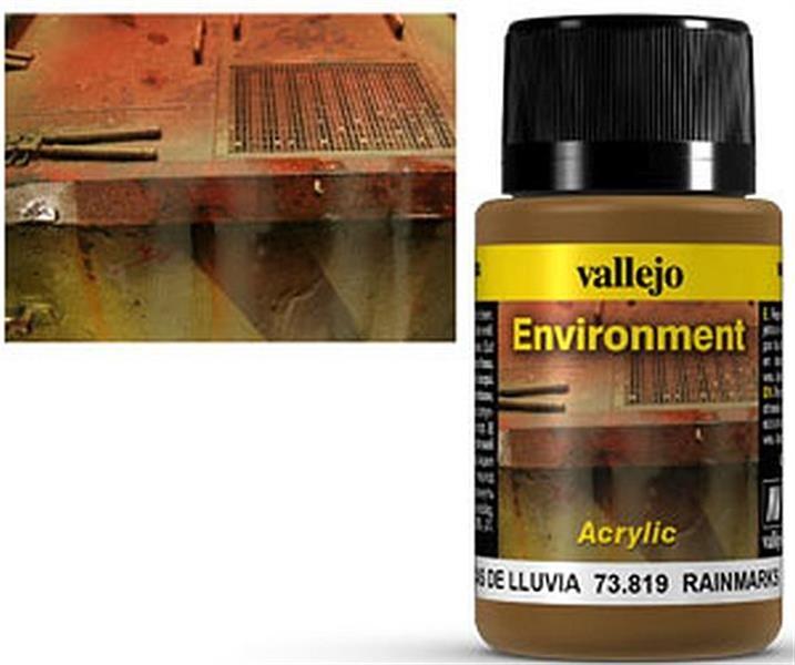 VALLEJO WEATHERING: Environment Rainmarks (40ml)