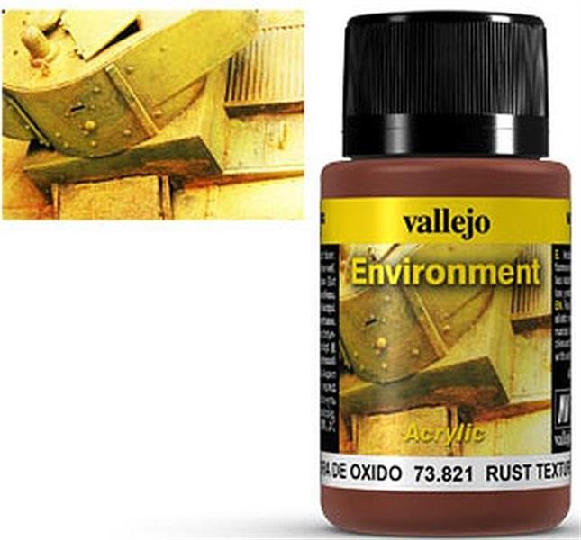 VALLEJO WEATHERING: Environment Rust Texture (40ml)