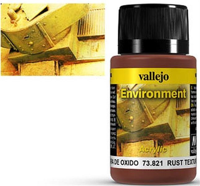 VALLEJO WEATHERING: Environment Rust Texture (40ml)