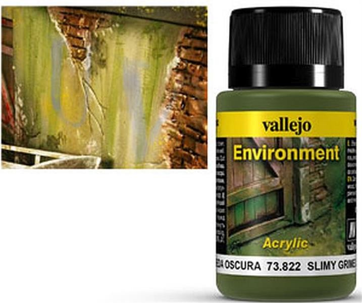 VALLEJO WEATHERING: Environment Slimy Grime Dark (40ml)