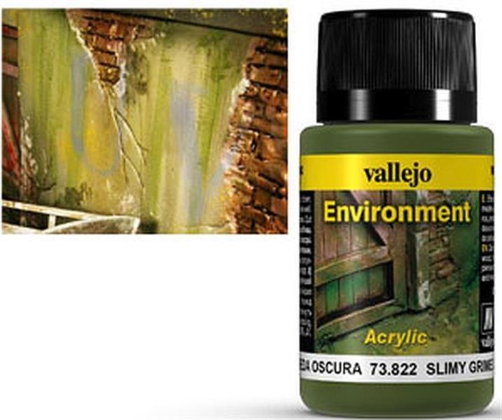 VALLEJO WEATHERING: Environment Slimy Grime Dark (40ml)