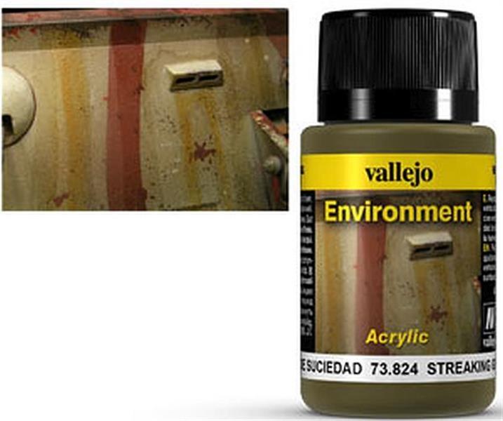 VALLEJO WEATHERING: Environment Streaking Grime (40ml)