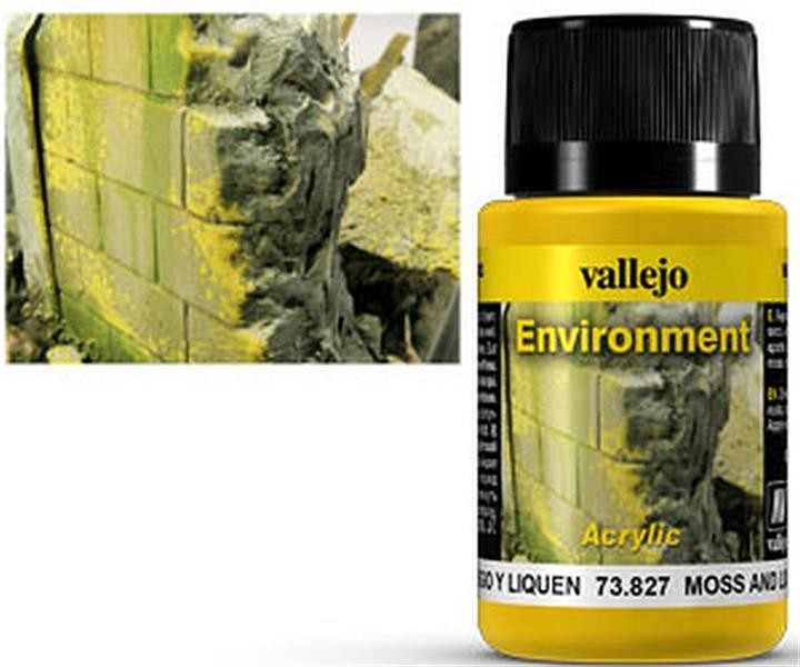 VALLEJO WEATHERING: Environment Moss and Lichen Eff. (40ml)