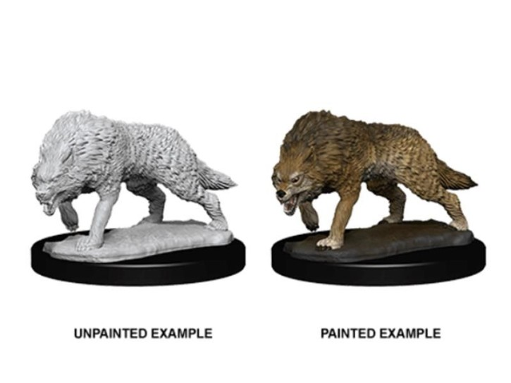D&D MARVELOUS MINIS: Timber Wolves