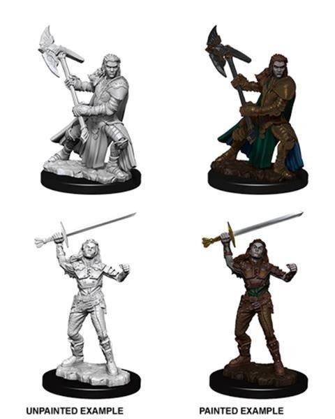 D&D MARVELOUS MINIS: Female Half-Orc Fighter