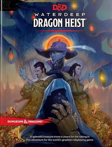 D&D RPG: Waterdeep Dragon Heist Book - EN