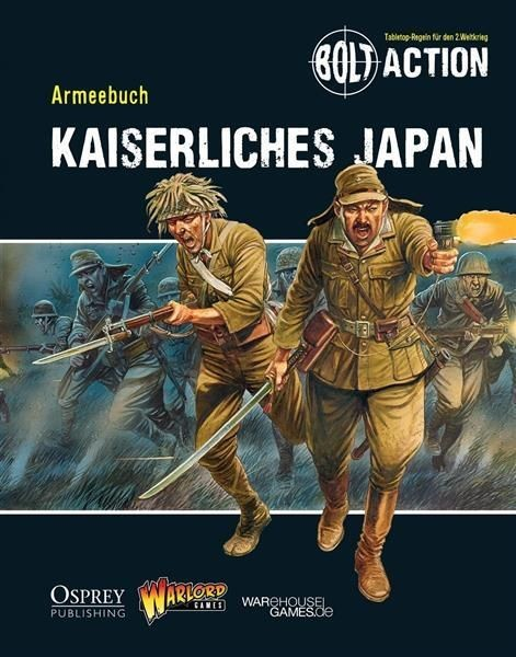 BOLT ACTION: Armeebuch Kaiserliches Japan - DE