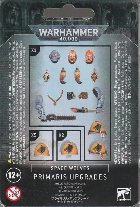 W40K: Space Wolves Primaris Upgrades