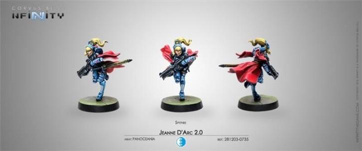 INFINITY: Jeanne d Arc 2.0 (Mobility Armor)(SPITFIRE)