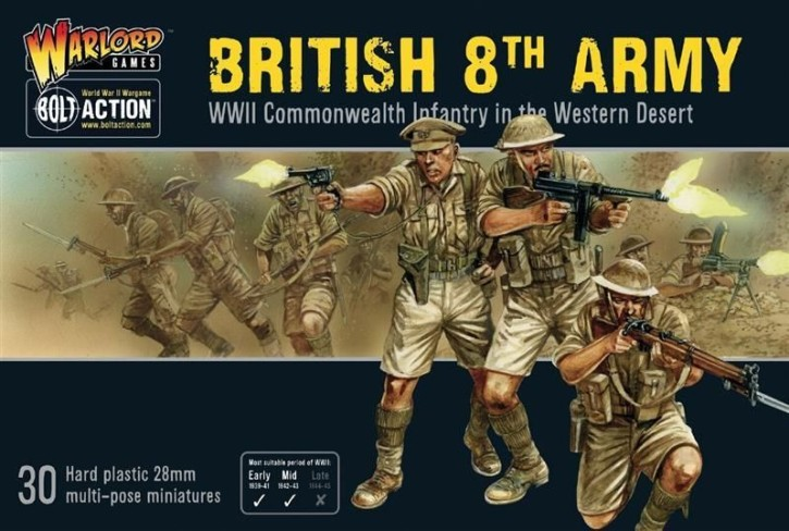 BOLT ACTION: British 8th Army