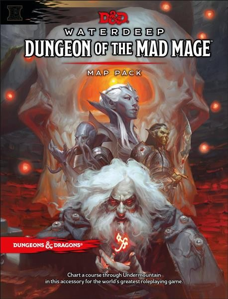 D&D RPG: Dungeon of the Mad Mage - Maps & Miscellany - EN