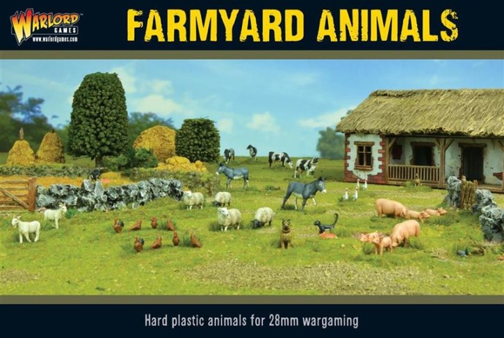 BOLT ACTION: Farmyard Animals